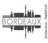 bordeaux france europe skyline... | Shutterstock .eps vector #786009169