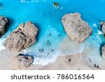 aerial flight with drone over... | Shutterstock . vector #786016564