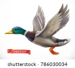 duck. hunting 3d vector icon | Shutterstock .eps vector #786030034