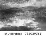 wall painting. handmade.... | Shutterstock . vector #786039361