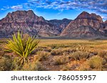 Sunrise At Red Rock Canyon In...