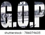 gop  american politics  | Shutterstock . vector #786074635