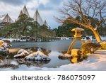 kanazawa  ishikawa  japan...   Shutterstock . vector #786075097
