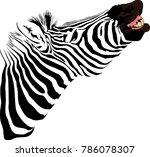 vector illustration of abstract ... | Shutterstock .eps vector #786078307