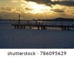 Frozen Lake Ontario With A...