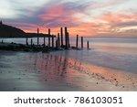 port willunga beach featuring... | Shutterstock . vector #786103051