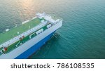 Small photo of Large commercial vehicle carrier ship, Car shipping commercial vehicle carrier ship.