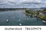 parramatta river  sydney  new...   Shutterstock . vector #786109474