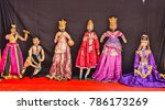 rajasthani puppet dolls at... | Shutterstock . vector #786173269