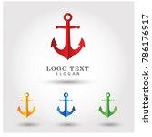anchor logo. symbol   icon...   Shutterstock .eps vector #786176917