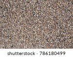 small sand stone of sand wall... | Shutterstock . vector #786180499