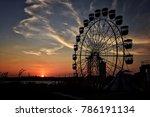 sydney luna park  afternoon...   Shutterstock . vector #786191134