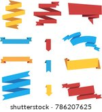 labels stickers banners tags | Shutterstock .eps vector #786207625