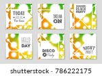 abstract vector layout... | Shutterstock .eps vector #786222175