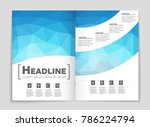 abstract vector layout... | Shutterstock .eps vector #786224794