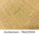 brown sackcloth background | Shutterstock . vector #786225034