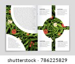 abstract vector layout... | Shutterstock .eps vector #786225829