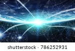 connections system and global... | Shutterstock . vector #786252931