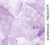 violet transparent watercolor... | Shutterstock .eps vector #786262579