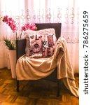 home decor romantic interior... | Shutterstock . vector #786275659