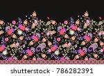 endless multicilor floral... | Shutterstock . vector #786282391