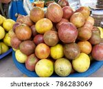 fruit thailand asia | Shutterstock . vector #786283069