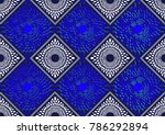textile fashion african print... | Shutterstock .eps vector #786292894
