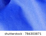 synthetic blue surface | Shutterstock . vector #786303871