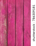 old pink wooden background.... | Shutterstock . vector #786309181