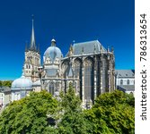 the city of aachen  germany | Shutterstock . vector #786313654