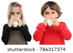 children little girl boy child... | Shutterstock . vector #786317374