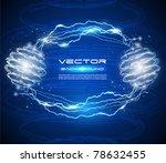 high tech abstract vector... | Shutterstock .eps vector #78632455