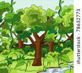 jungle | Shutterstock .eps vector #78632773