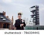 working man foreman miner in... | Shutterstock . vector #786334441