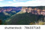 blue mountains national park... | Shutterstock . vector #786337165