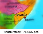 somalia  officially the federal ... | Shutterstock . vector #786337525