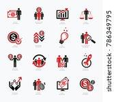 business icon set design | Shutterstock .eps vector #786349795