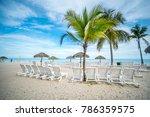paradise beach in panama | Shutterstock . vector #786359575