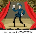 Hamlet Classical Theater Actor...