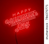valentines day background.... | Shutterstock .eps vector #786370771