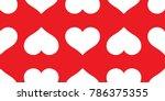 heart valentine seamless... | Shutterstock .eps vector #786375355