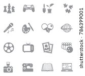 Hobby Icons Free Vector Art 25605 Free Downloads
