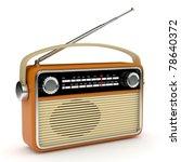 retro radio | Shutterstock . vector #78640372