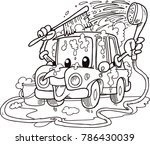 quick car washes | Shutterstock .eps vector #786430039