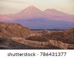 licancabur volcano at the...   Shutterstock . vector #786431377