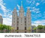 salt lake city  usa   may 19 ...   Shutterstock . vector #786467515