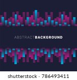 vector abstract background.... | Shutterstock .eps vector #786493411