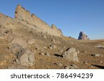 Shiprock  Volcanic Neck And...