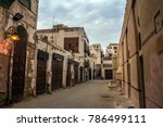 ancient street in unesco world... | Shutterstock . vector #786499111