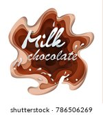 to illustrate vector chocolate... | Shutterstock .eps vector #786506269